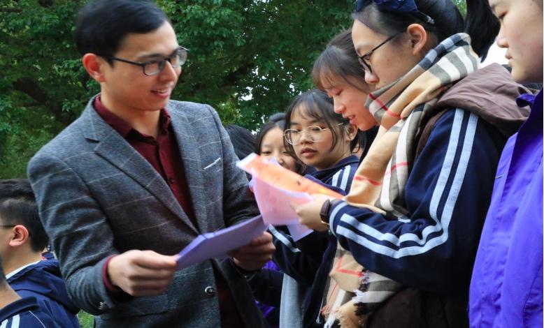 海亮实验中学绍兴模考表彰