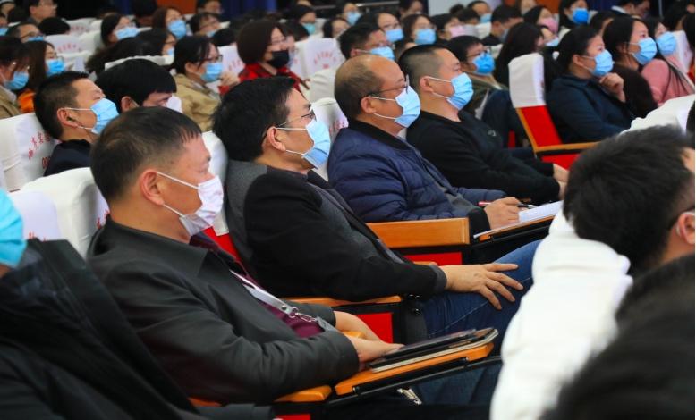 海亮实验中学召开全体教师大会