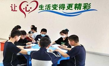海亮初级中学组织班级心理委员集会
