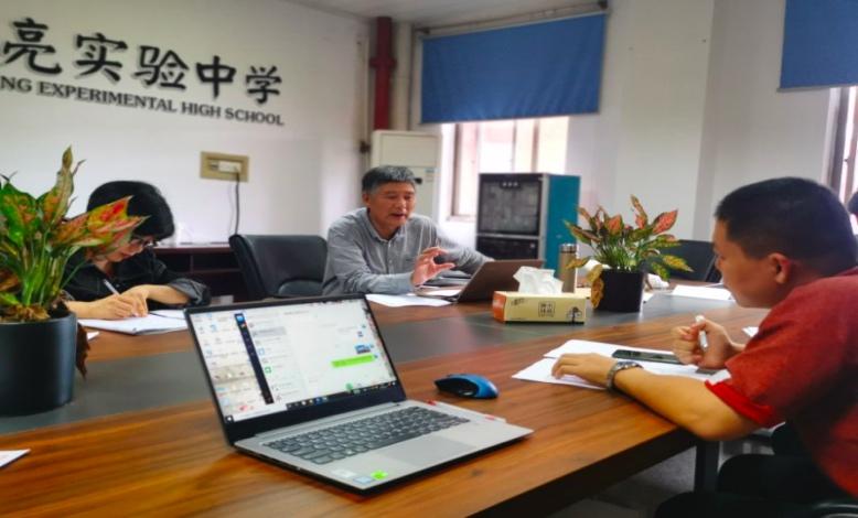 郭吉成特教为海亮实验中学高三教师做针对性培训