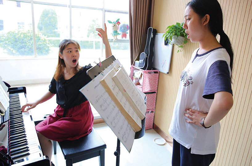 音乐专业——一对一声乐课