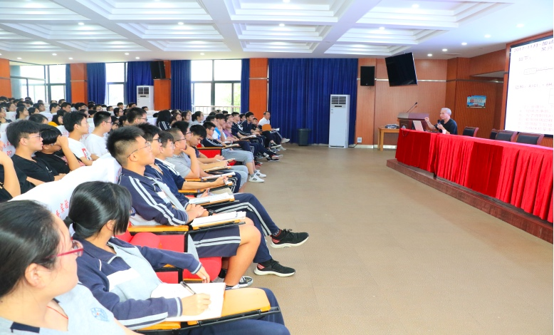 浙江省化学特教给海亮实验中学高三学子带来考前复习讲座
