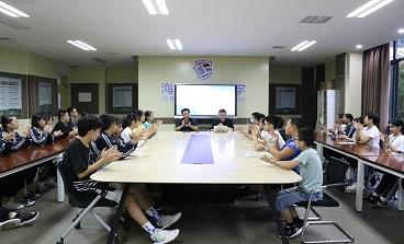 海亮初级中学召开少年英才班学生会议