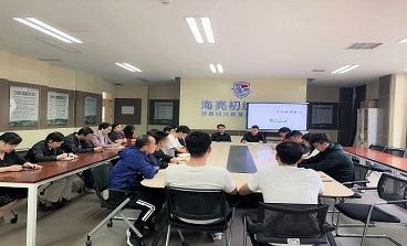 海亮初中组织召开全体非基础学科教师会议