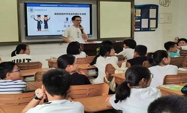 我的未来不是梦 | 生涯教育特色课程在海亮初级中学开讲啦!