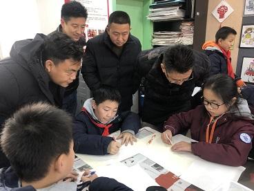 西藏那曲市色尼区教育系统教师及干部团一行赴海亮小学进行交流活动