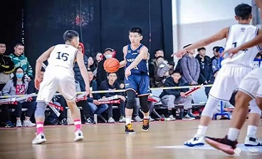 海初学子入选中国篮协2021年U15国家队