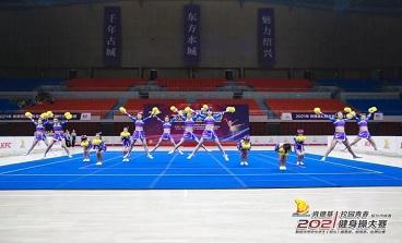 海亮初级中学啦啦操队再获佳绩