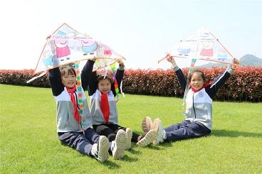 人间四月天 春风十里暖——海亮小学二年级春游活动