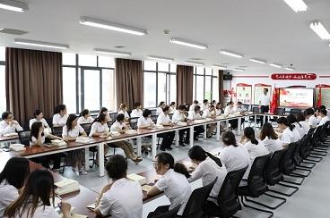 学党史,跟党走—海亮初级中学党史学习大事记