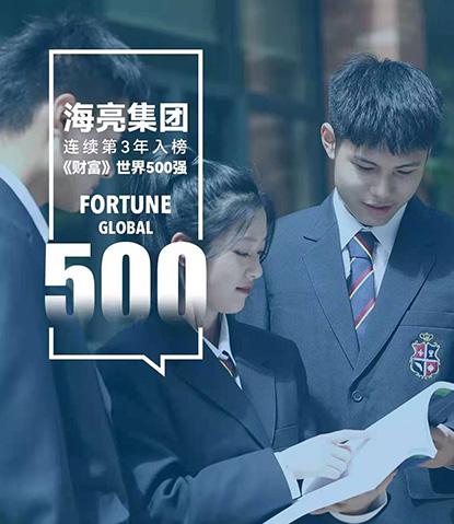 海亮集团连续3年入榜世界500强,排名再提升40位