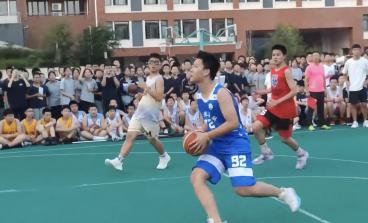 无体育,不青春!无篮球,不海初!——海亮初级中学第四届HBA篮球联赛开幕